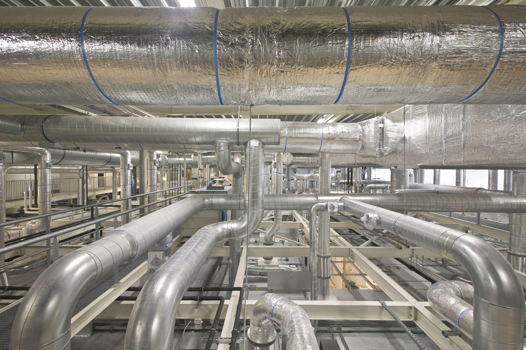 Industrial Cooling Duct : Sound and thorough cleanair uk ductwork inspection